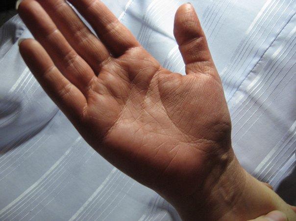 Где найти пояс Венеры на руке что он значит в хиромантии